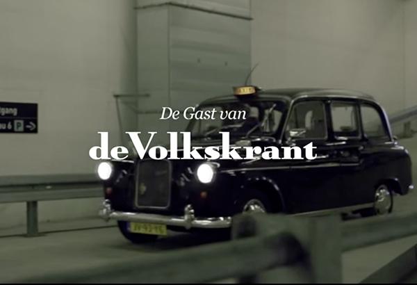 Guest of de Volkskrant, PR by Hagens PR