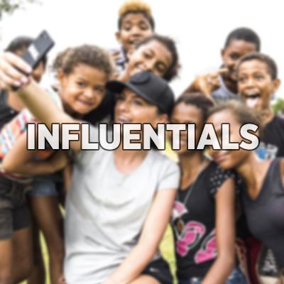 Influentials  Inzet van (social) influentials voor doelgericht bereik.