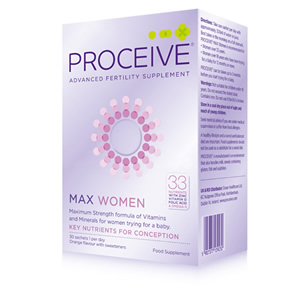 Proceive Fertility Supplements for Women with 33 Nutrients - Max Strength