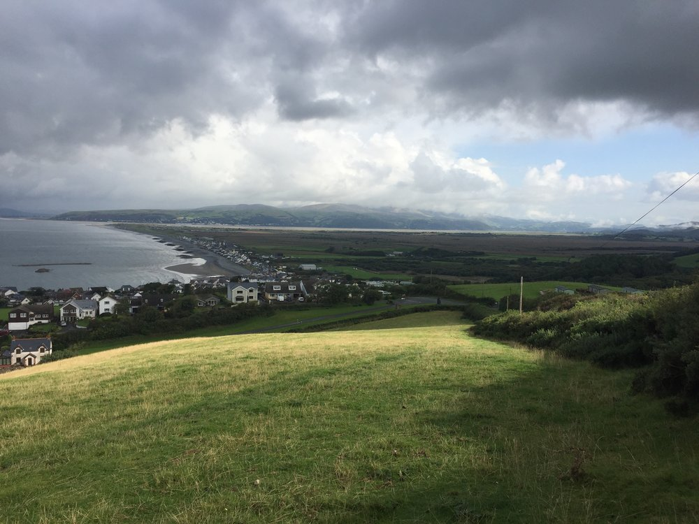 The Sublime View from the Clarach Road