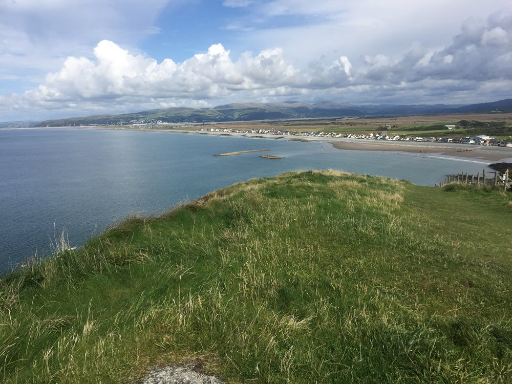 Borth from Constitution Hill