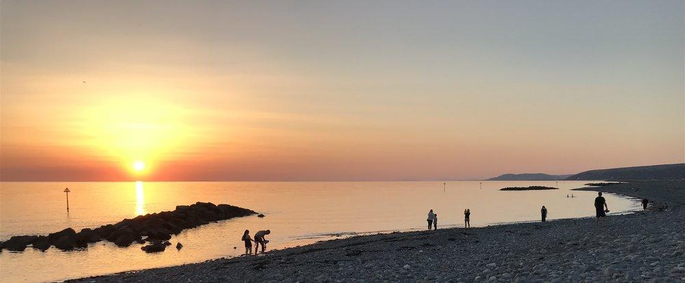 Borth Sunset June 2018