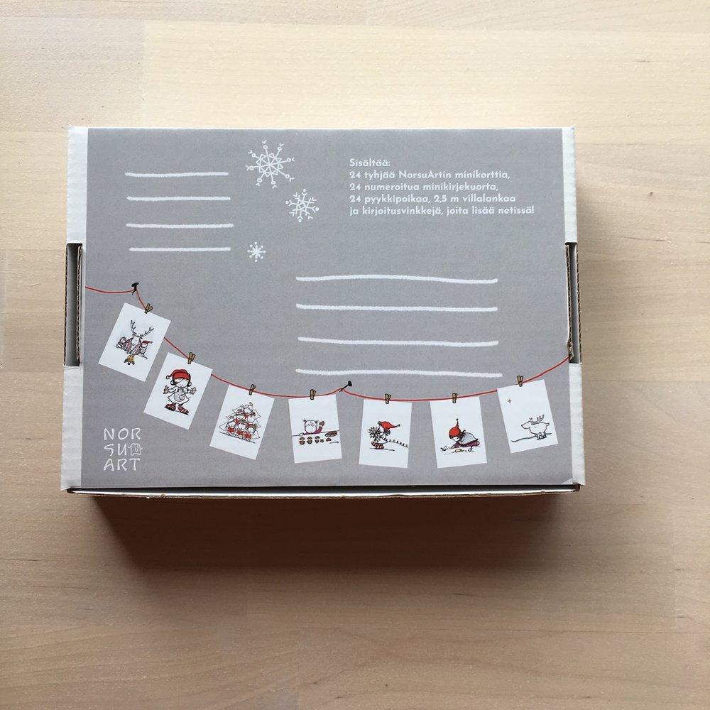 Voit postittaa täytetyt kuoret samassa laatikossa!