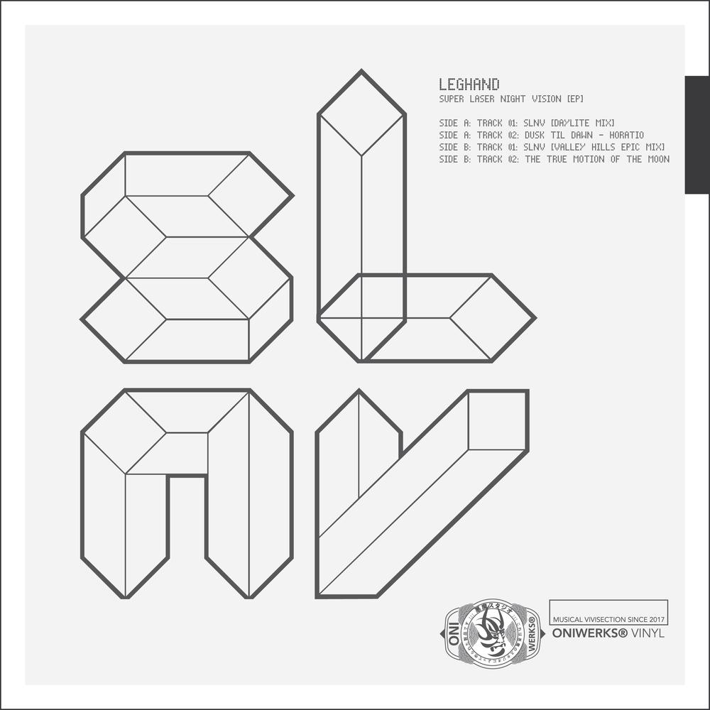 Super Laser Night Vision EP [2500 x 2500 pixel PNG]