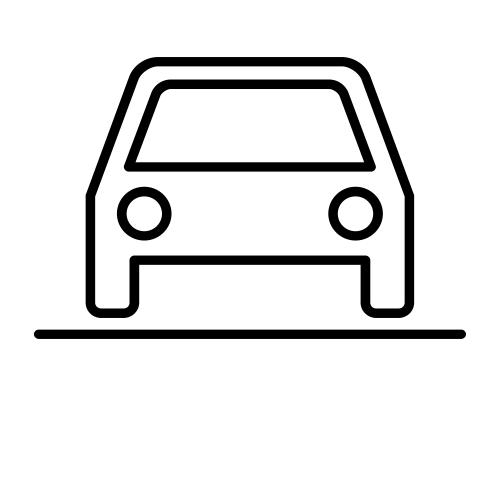 Parcheggio ombreggiato