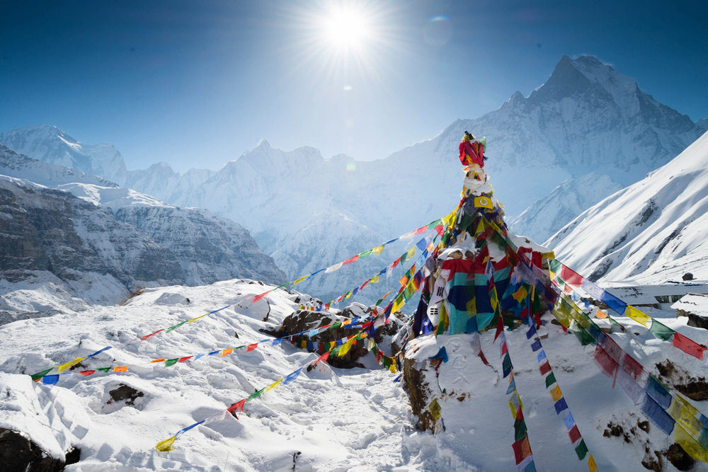 Everest Base Camp   Season: February-May, October - December   18,480ft / Southern Face Basecamp / 15 day trek