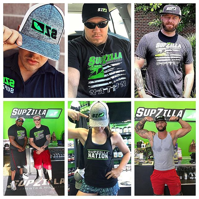 "SupZilla Nation! Thanks so much for all your positive feedback and support on our new SupZilla hats! They've been a huge hit so far! If you don't have one yet, or if you're looking to collect the whole set(you know you've thought about it😉), make sure to stop in to your local SupZilla next week and grab yours while they're hot! ...Come get a scoop!"" @michael.goebel @joe_supzilla @thedavebever @travie_wayne_p @wayne4360 @mfit_87 @richhilsheimer #beastmode #bodybuilding #comegetascoop #family #fit #fitness #fitfam #fitlife #goals #healthy #Indiana #inspiration #lifestyle #motivation #nutrition #Ohio #strength #SupZilla #SupZillaFit #SupZillaHer #SupZillaNation #SupZillafamily #SupZillagreen #SupZillastrong #SupZillatakeover #SupZilla4life #supplements #training #weightloss #workout"