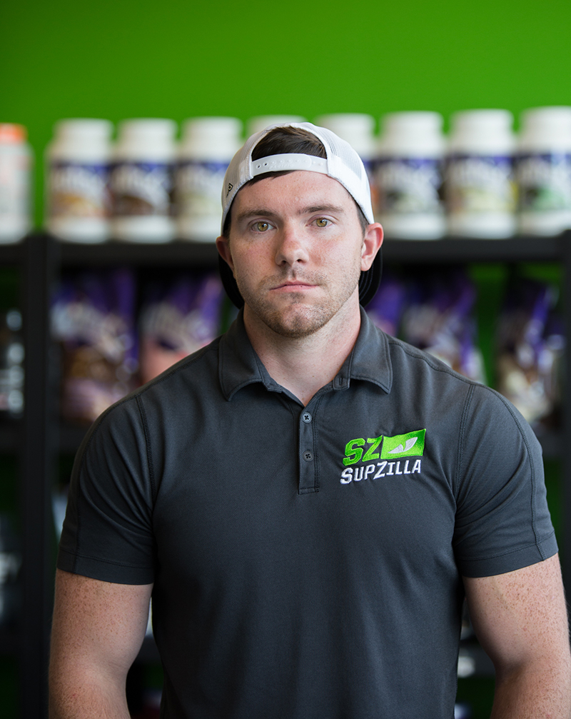 Supzilla Pickerington Affiliate Owner, Ryan Binning