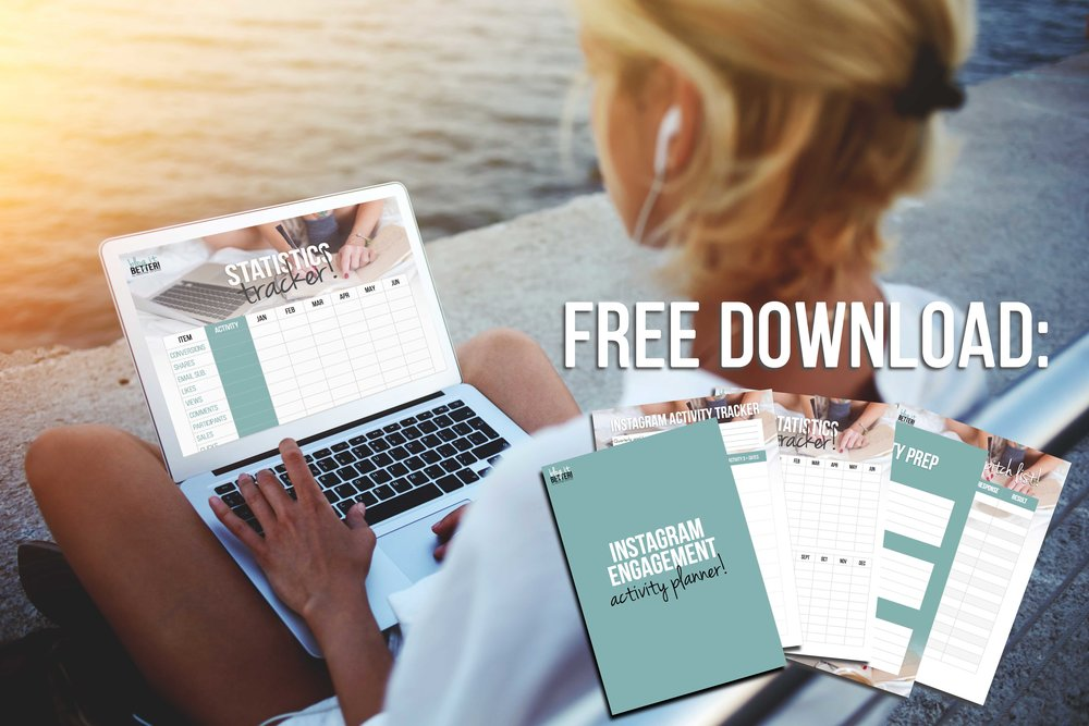 Free Download - Instagram Engagement Activity Planner