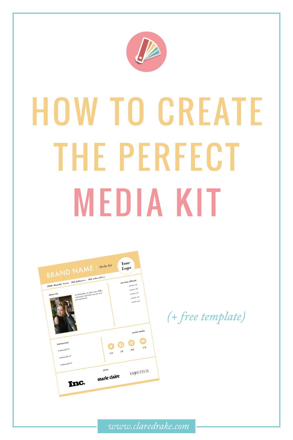 Media Kit 101: How & Why You Need a Media Kit