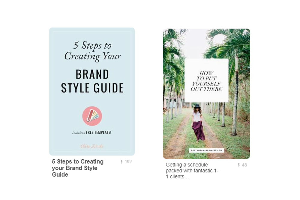 rich pins example
