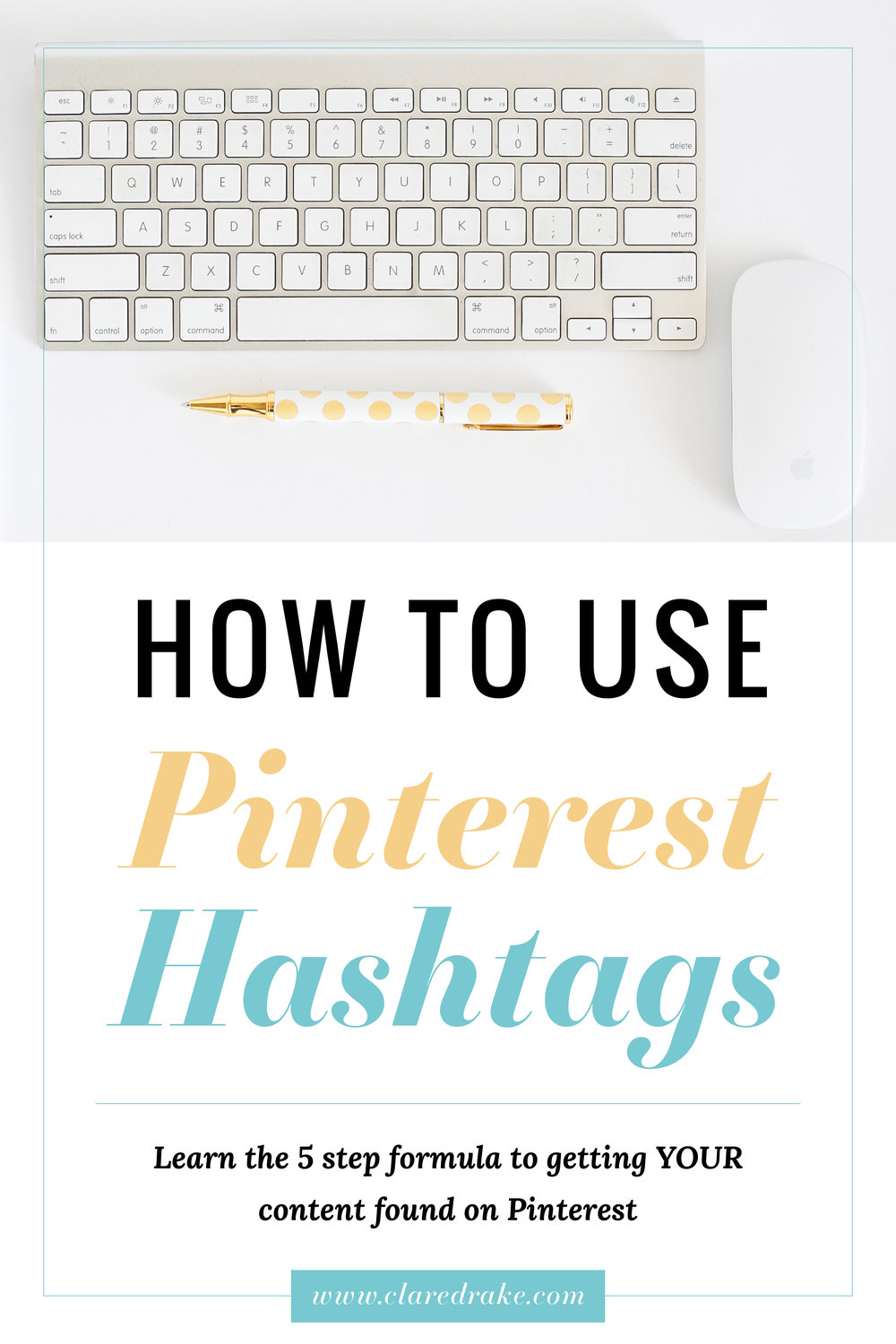 How to Use Pinterest Hashtags