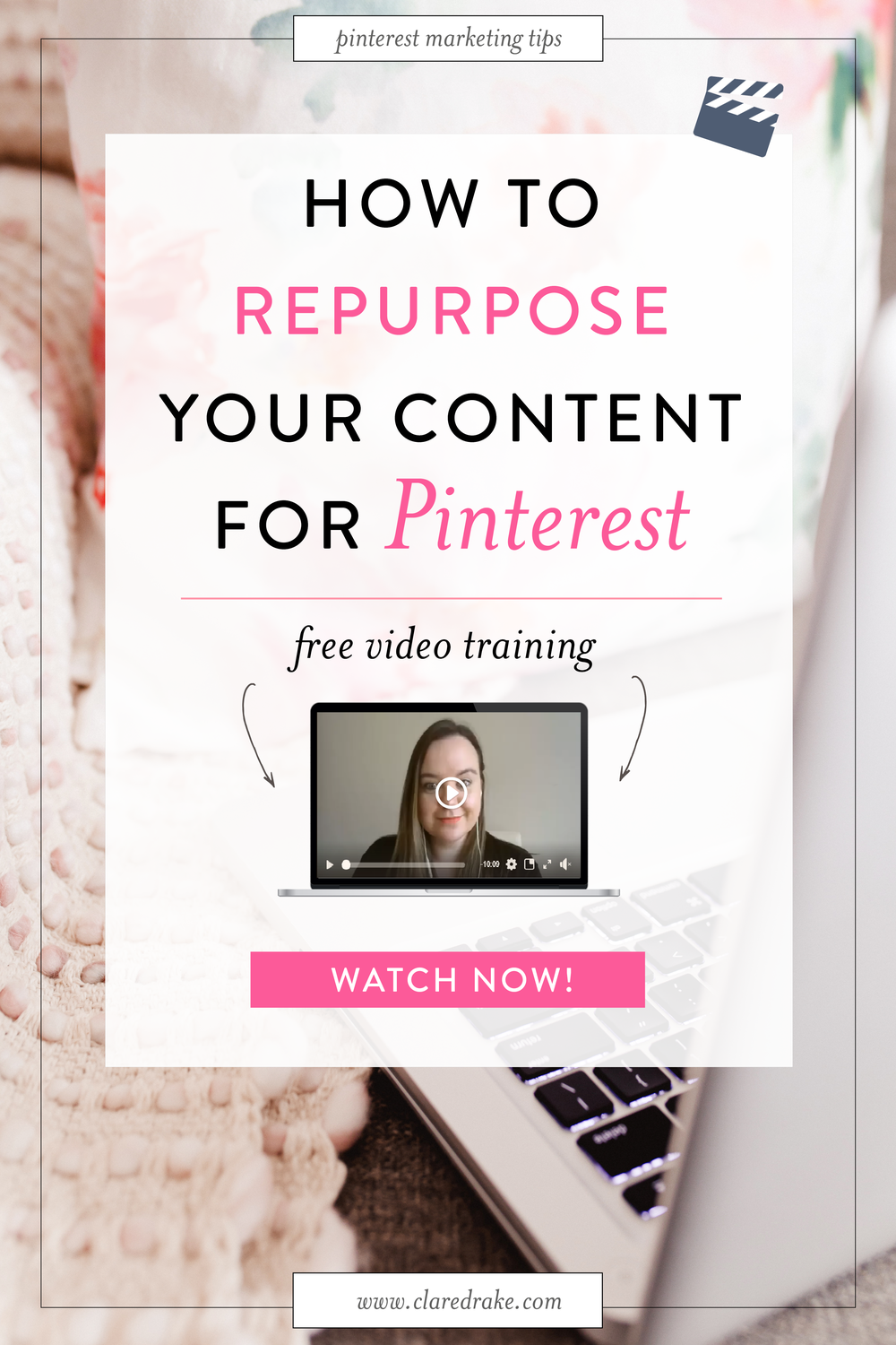 Want more eyeballs on your business? Get ready to maximise your content by repurposing it (and your products and services) through creative graphics that you can add to Pinterest to increase your visibility, click throughs & revenue! Watch now! #pinteresttips #pinterestforyourbusiness #socialmediatips #pinterestmarketing #onlinebusinesstips #smallbusinesstips #socialmediastrategies #repurposingcontent #canva #pinterestgraphics #fblive