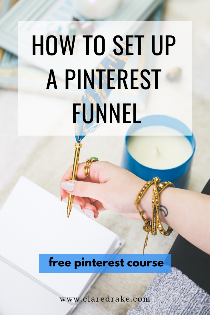 how to set up a pinterest funnel