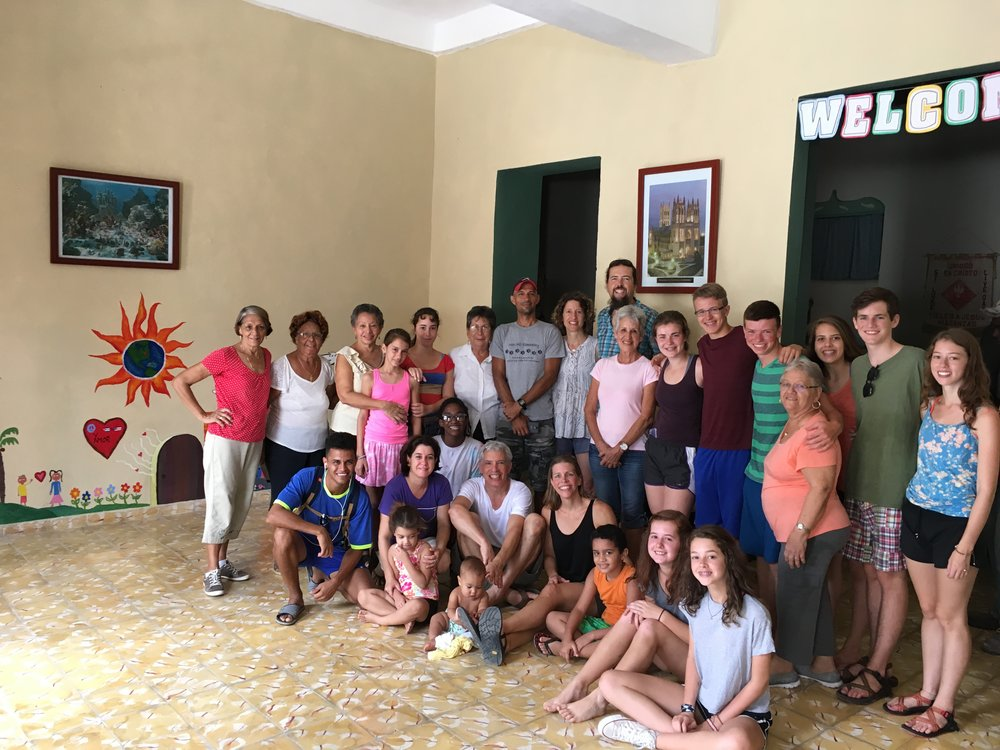 just a small piece of the amazing community of Fieles A Jesus in Matanzas, Cuba