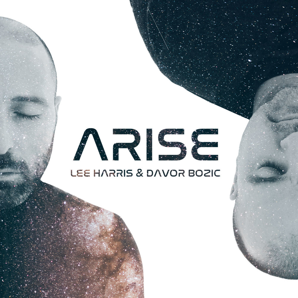 ARISE  Original album cover for Lee Harris & Davor Bozic