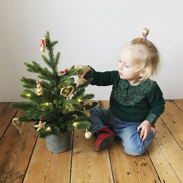 Happy Christmas! 🎄 Hoping each one of you is feeling merry and bright. So much love. ❤️ . . . . . . #16monthsold #1yearold #christmastree #decoratingforchristmas #toddlersofinstagram