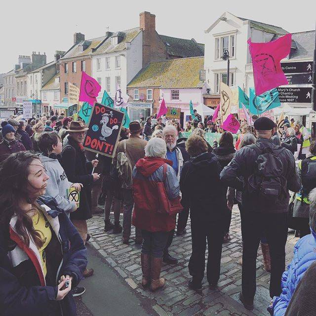 Extinction Rebellion Bridport. It was emotional! It's so moving to feel the heart-based energy behind this movement in person. Amazing. People care. The planet and its peoples are changing. #starseed #extinctionrebellion #bridport #dorset #ascension #5thdimension