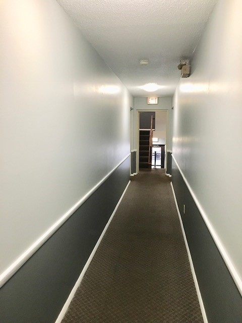 All our hallways have recently been painted