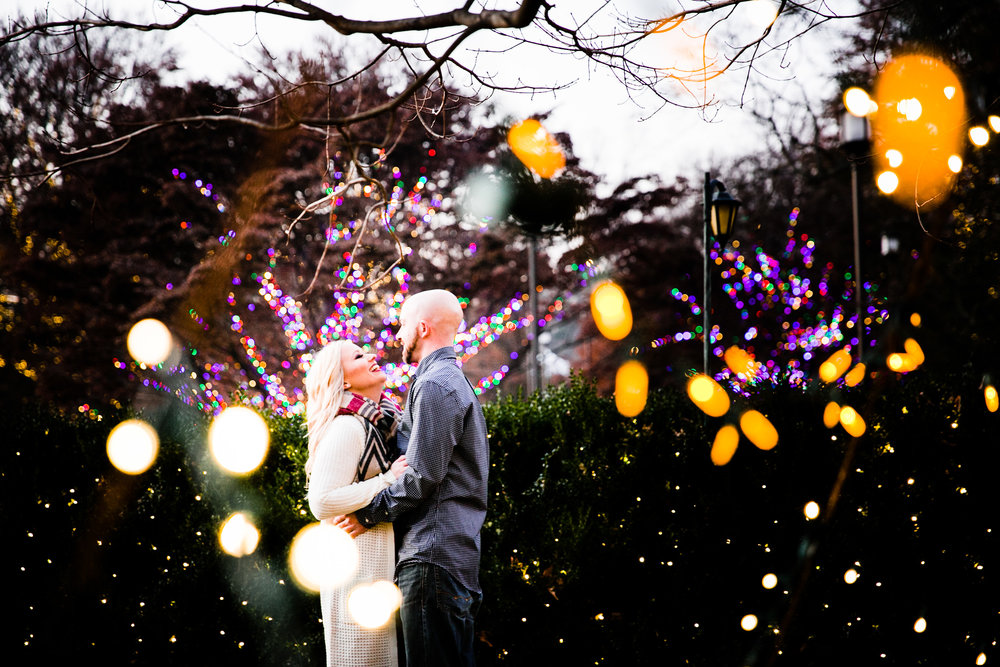 Longwood Garden Christmas Engagement Shoot -007.jpg