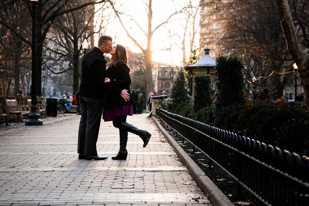 Rittenhouse Square Engagement Photos - LoveStruck Pictures - 003.jpg