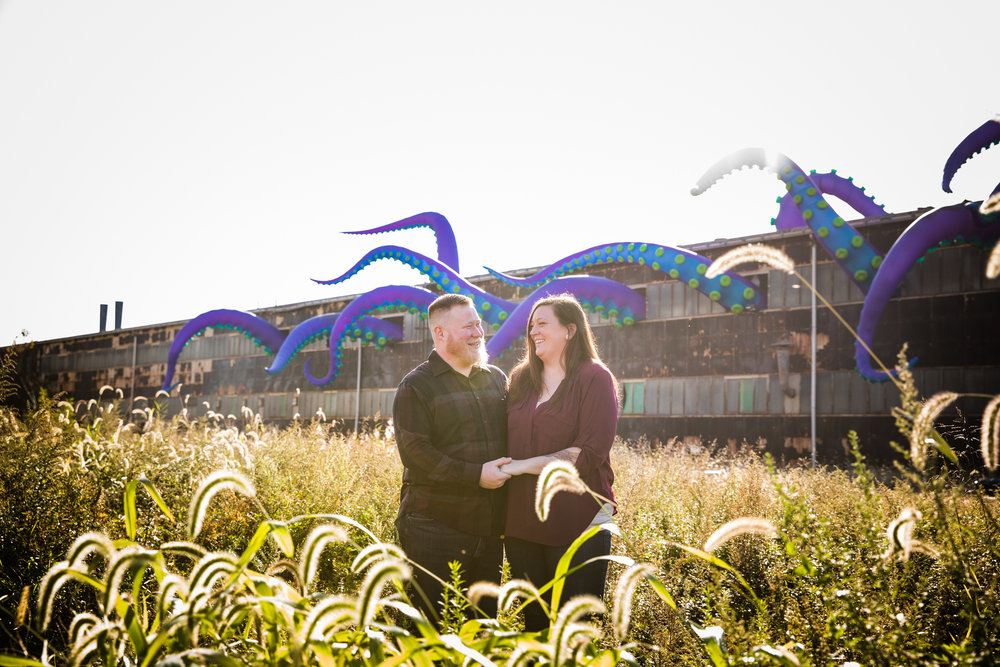 Kristina and Shawn - Navy Yard Engagement Session -002.jpg