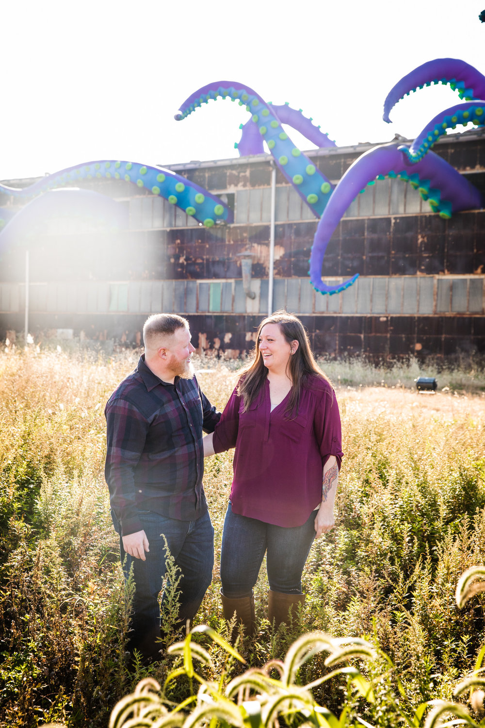 Kristina and Shawn - Navy Yard Engagement Session -004.jpg