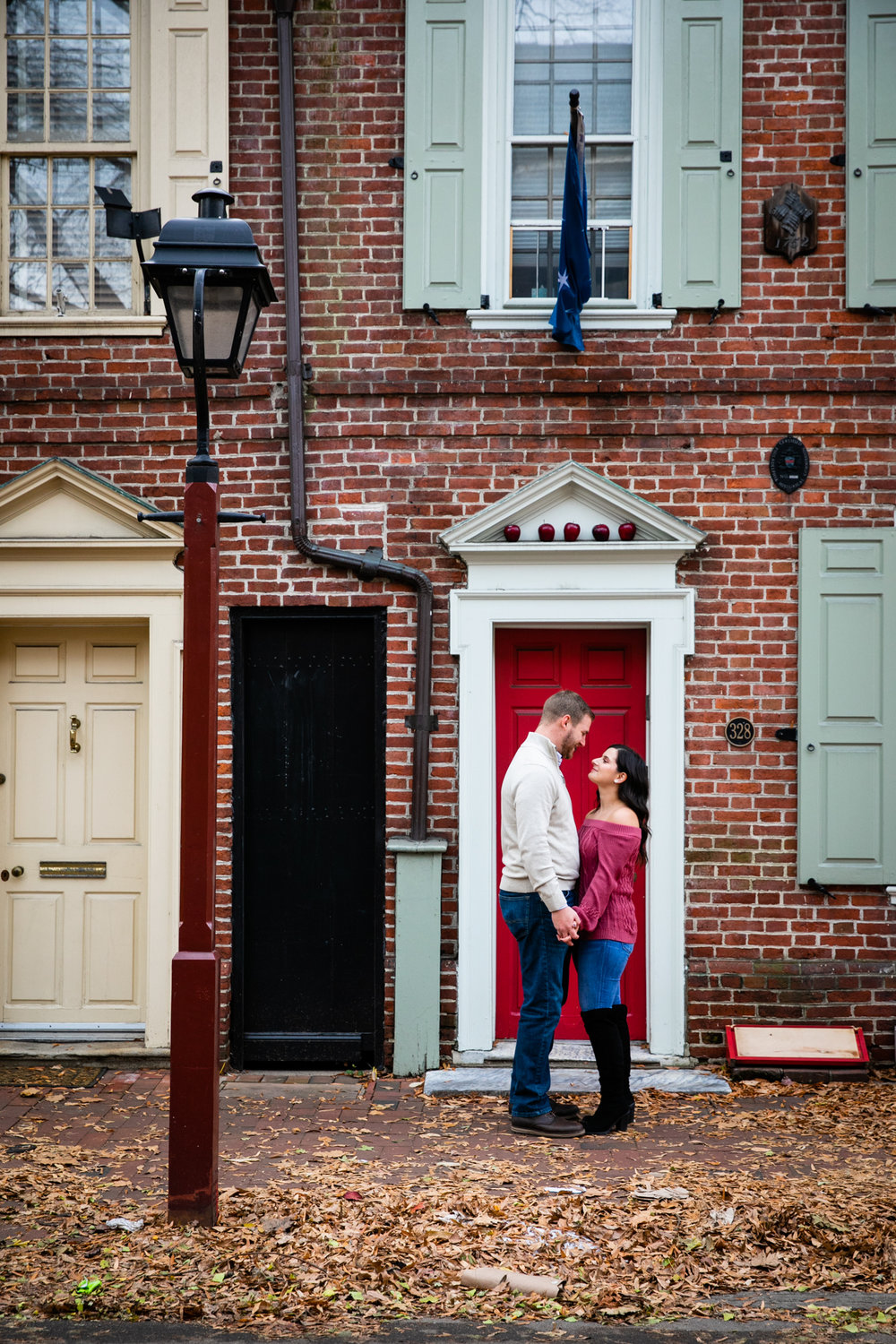 Philadelphia Old City Engagement Photography - Lovestruck Pictures-013.jpg
