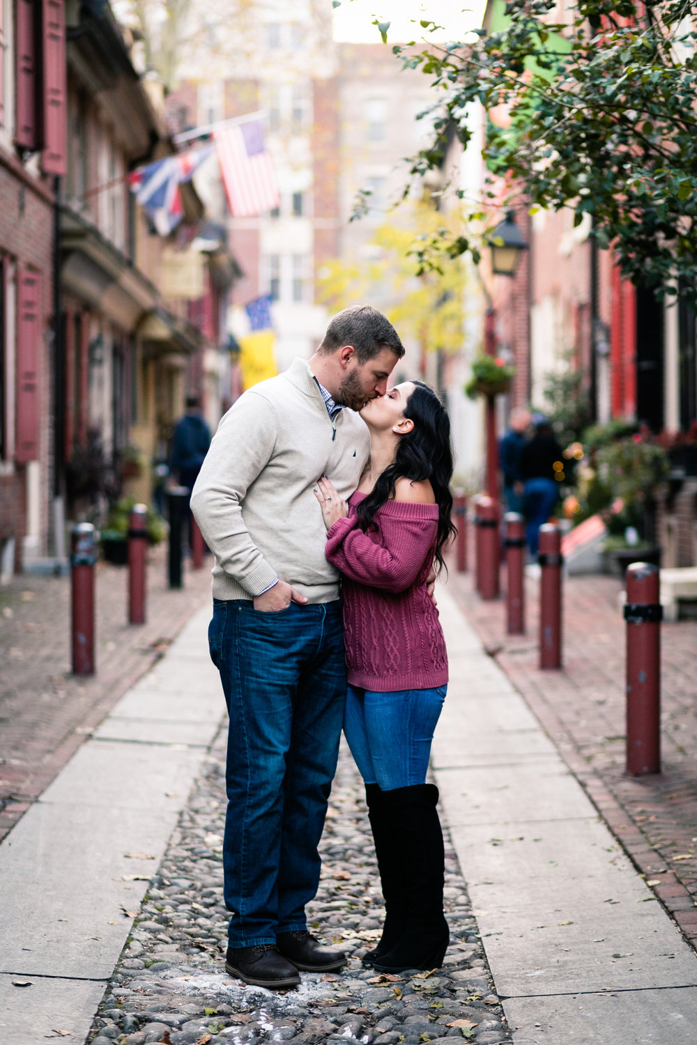 Philadelphia Old City Engagement Photography - Lovestruck Pictures-020.jpg