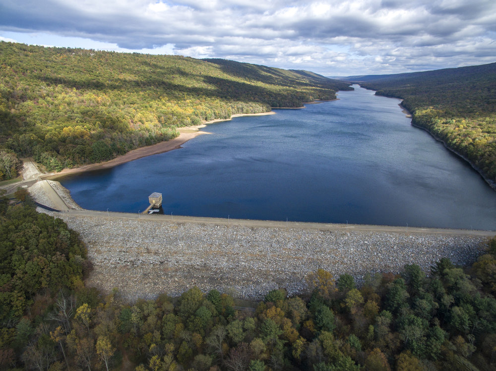 DeHart Dam & Reservoir (courtesy Capital Region Water)