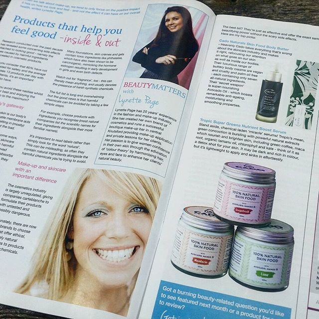 Thank you @lpagemakeup and #InCheshireMagazine for this wonderful feature on Cado Naturals 💚 . . . #natural #organic #vegan #crueltyfree #happy #healthy #skin #food #cosmetics #skincare #beauty #body #love #life #avocado #mango #fruit #green #health #healthy #lifestyle #magazine #cheshire #london #tuesday #summer #pure #raw #thankyou #cado