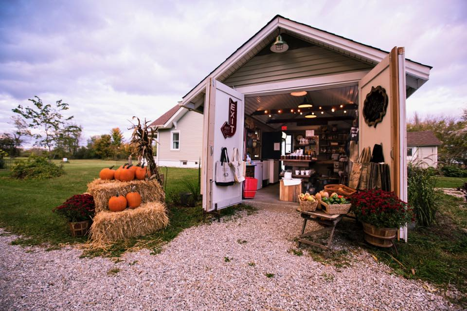 The on-farm food store. Photo by Haley Rae.
