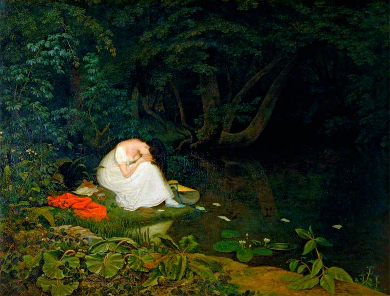 disappointed love, danby, francis, born 1793 - died 1861 (oil on canvas)