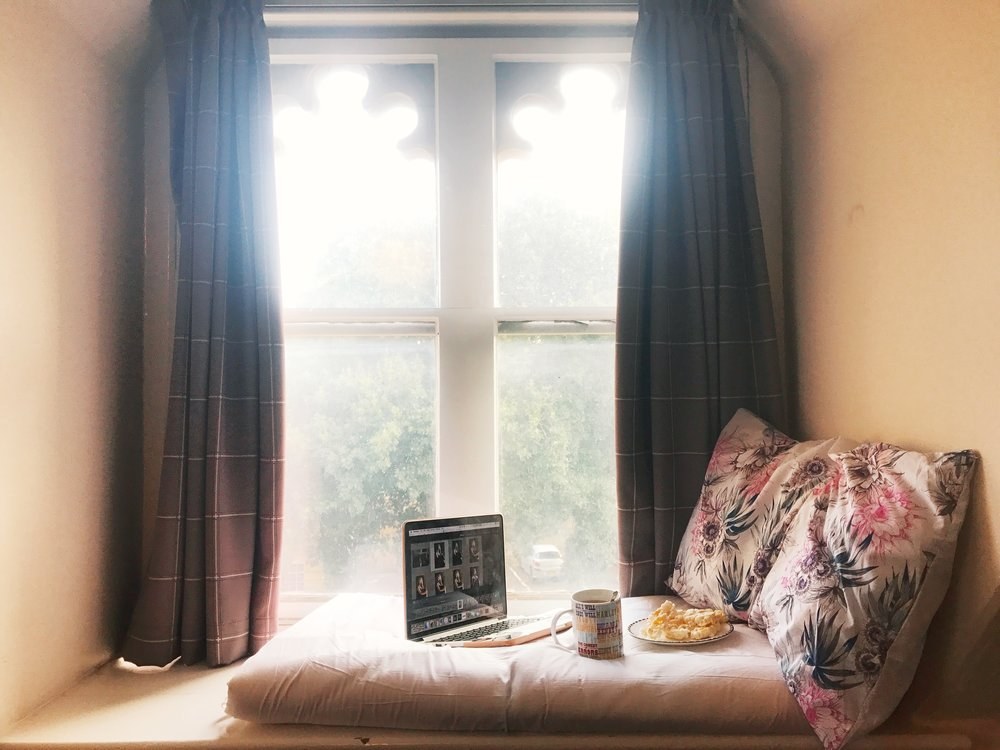 look at this cute little set up i made on my windowsill! credit: tanya