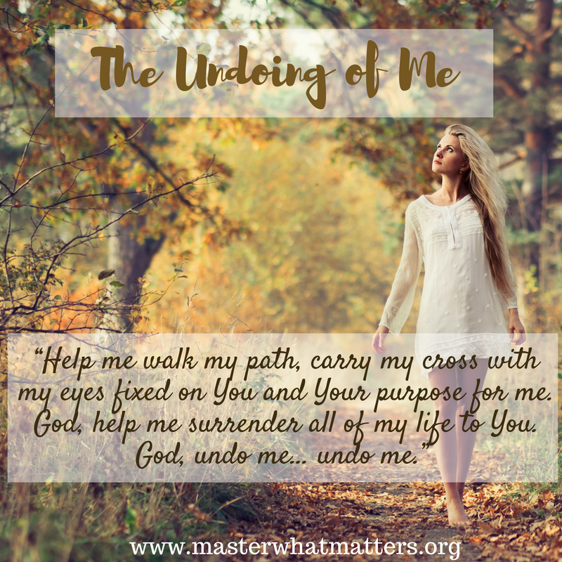 The Undoing of Me