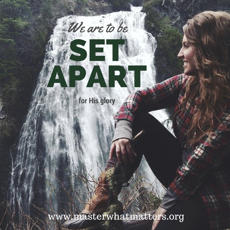 set-apart