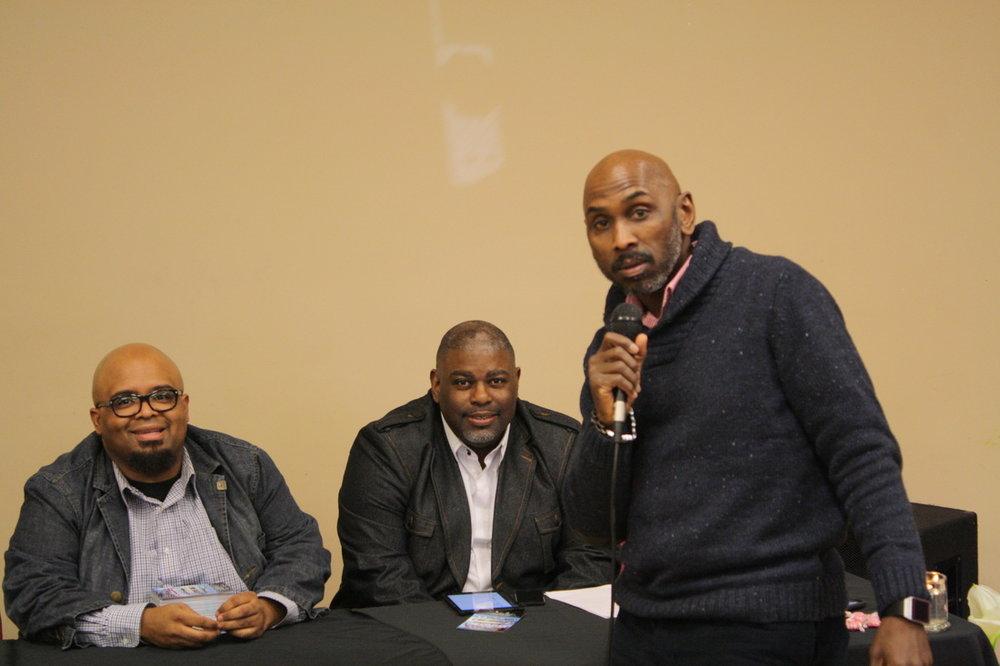 (l-r) Carlton Portly, Demetrus Tolfree, Jeff Robinson(IMAC Founder)