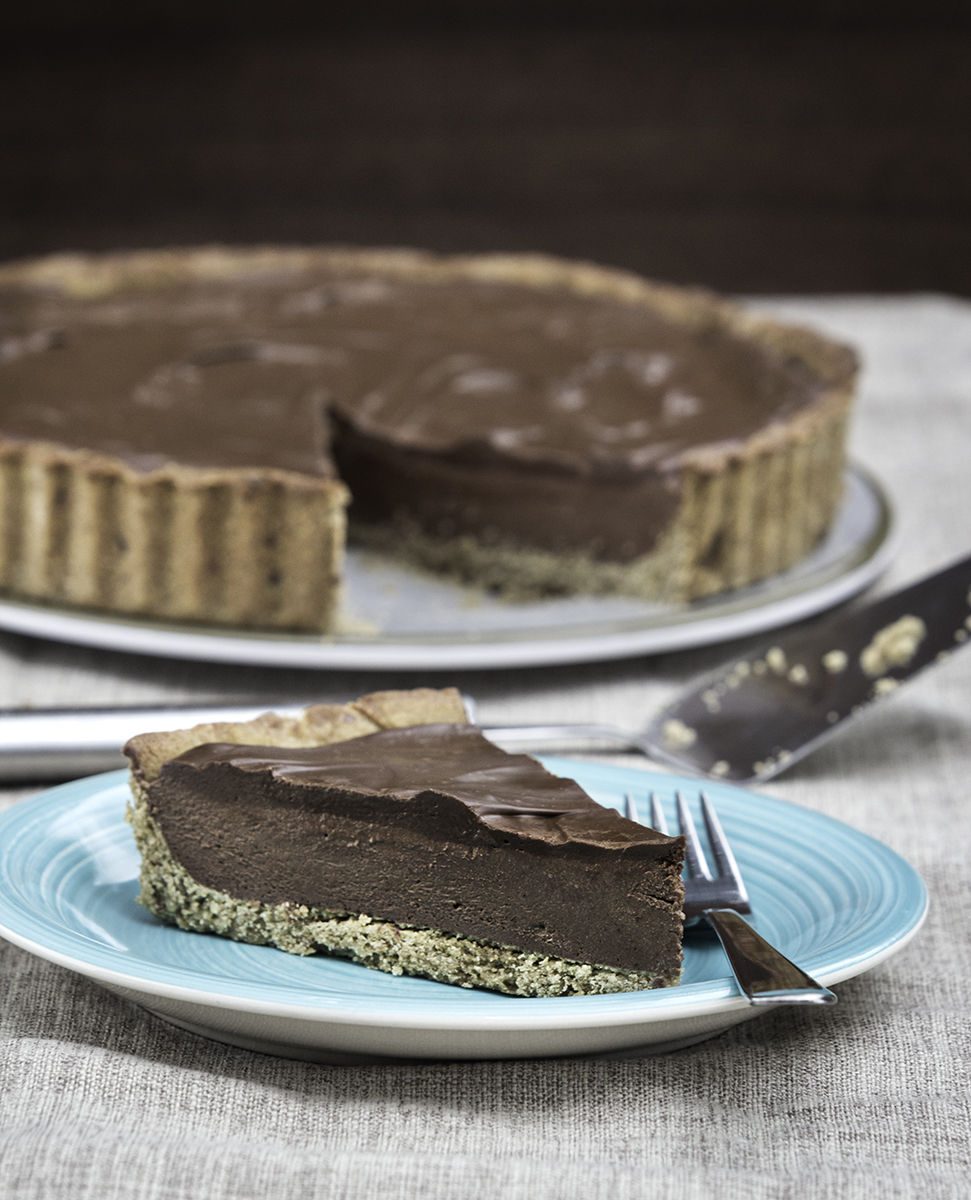 You Might Also Like - Vegan and Gluten-Free Chocolate Tart