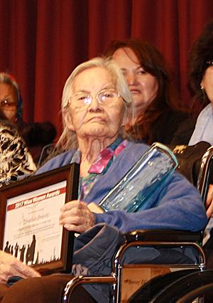 Ernestine Lennie Tulita of the Sahtu Region