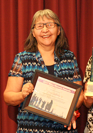 Lucy Lafferty Behchoko of the Tlicho Region
