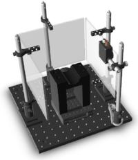 Basic setup for mice to perform a perceptual decision-making task