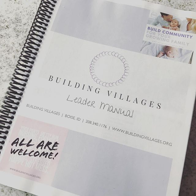 Our very first volunteer training is complete! So thankful for the amazing women who have stepped up to lead our new parent groups. Excited for what's ahead! #volunteersrock #buildingvillages #buildyourvillage #parenthood #parentlife