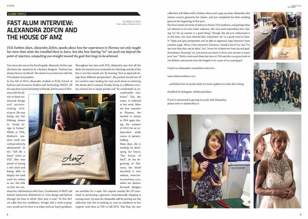 BLENDING Newsletter April 2017 |J SCHOOL - Journalism, Communication and Publishing