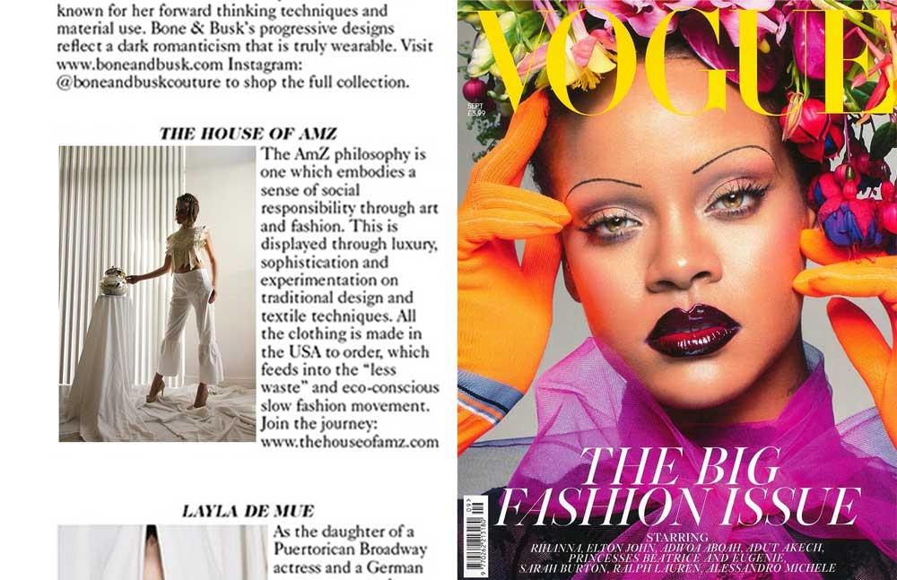 Designer Profile | Vogue | September Issue