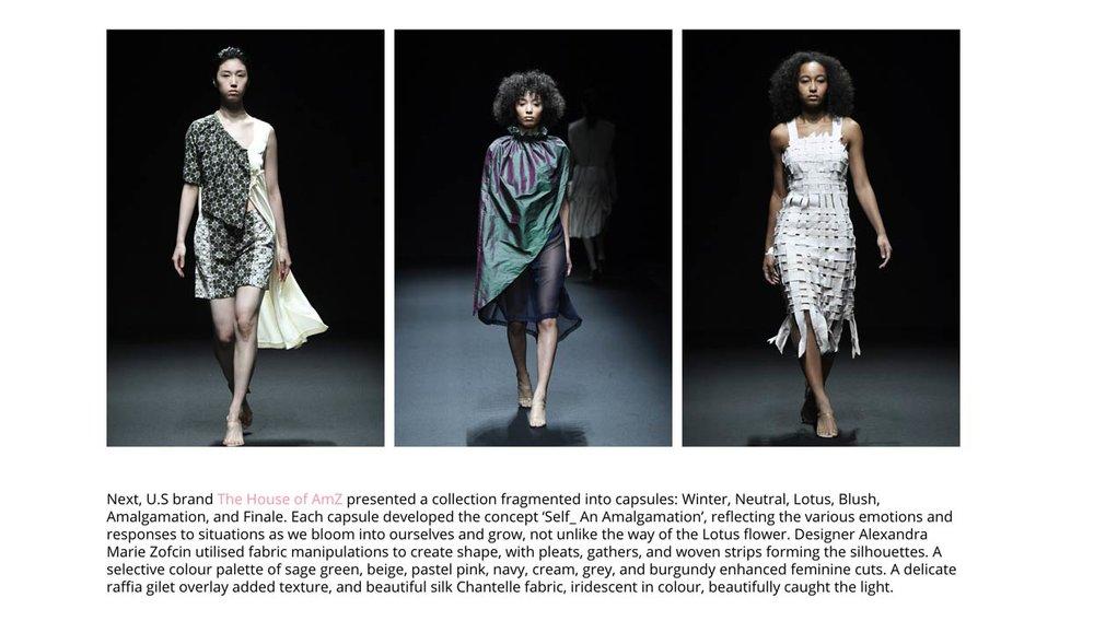 Global Fashion Collective At Amazon Fashion Week Tokyo |   Micro Macro Magazine