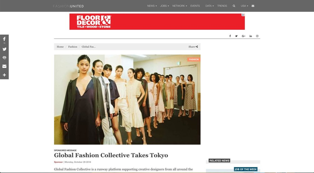 Global Fashion Collective Takes Tokyo | Fashion United