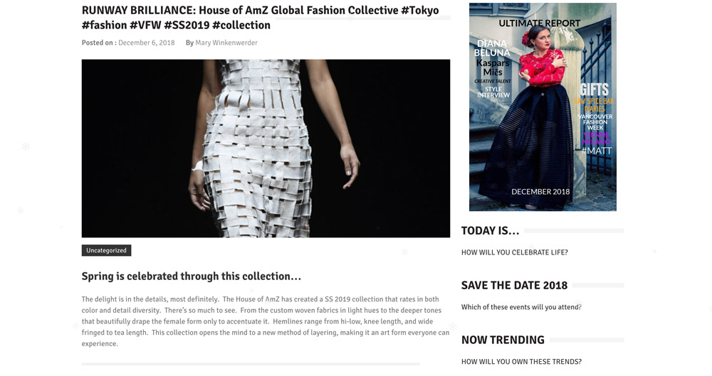 RUNWAY BRILLIANCE: House of AmZ Global Fashion Collective | Ultimate Report