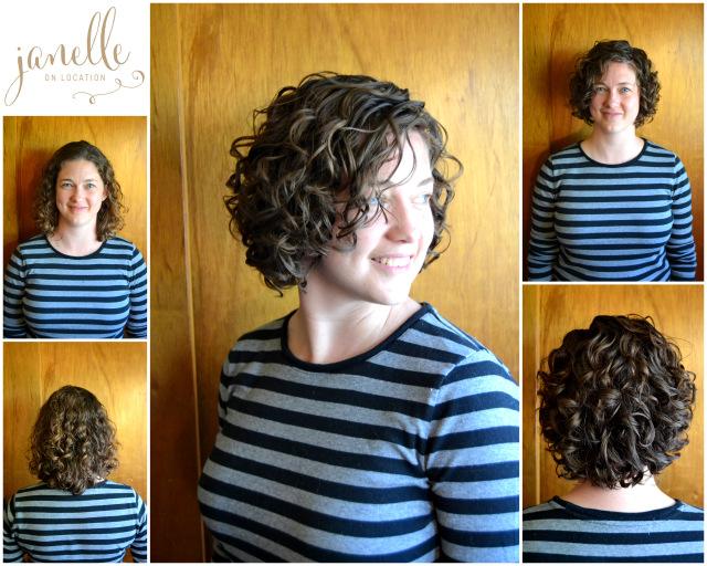 Devacurl Haircuts Janelle On Location