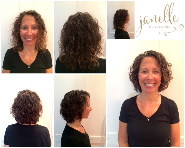Curly Haircut Transformation