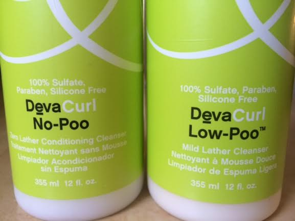 Deva Curl Cleansers: No Poo vs Low Poo